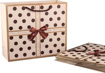 Комплект Бумажных Пакетов Из 10 шт. 30X27X12 см - Vogue International