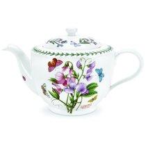 """Чайник Portmeirion """"Ботанический сад.Душистый горошек"""" 1,1л (традиционная форма) - Portmeirion"""