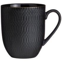 Кружка Bronco Crocus 480 мл Черная - Porcelain Manufacturing Factory