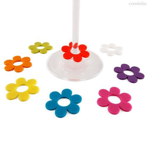 Маркеры для бокалов Daisy 8шт., цвет разноцветный - Koala