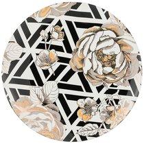Тарелка Обеденная Golden Rose 27 см, Геометрия - Porcelain Manufacturing Factory
