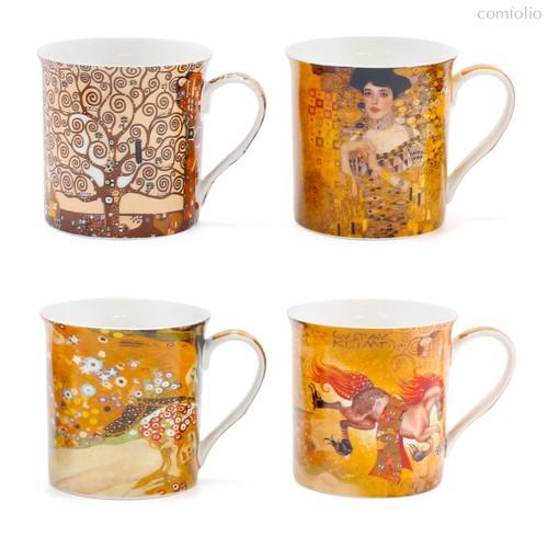 Импрессионисты Набор Кружек Климт 4шт 300 мл - The Leonardo Collection