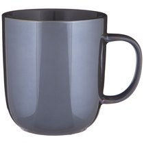 Кружка Gloss 400Мл Серая, цвет серый - Xianfeng Ceramic