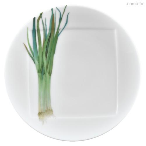 """Тарелка десертная Noritake """"Овощной букет"""" """"Зеленый лук"""" 16см - Noritake"""