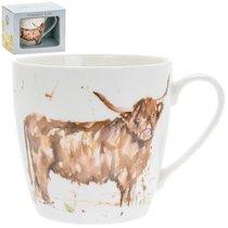 Кружка 300мл Сельская жизнь Высокогорная корова - Lesser & Pavey
