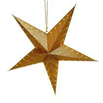 Светильник подвесной Star с кабелем 3,5 м и патроном под лампочку E14, 60 см., золотой, цвет золотой - EnjoyMe