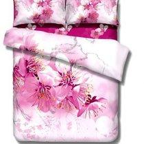 Комплект постельного белья RS-109, цвет розовый, Евро - Famille