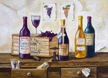 Подставки на пробке Винотека 40х29 см(4шт) - Top Art Studio