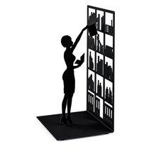 Держатель для книг The Library черный, цвет черный - Balvi