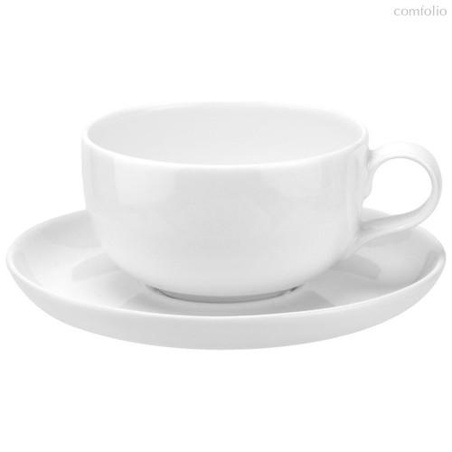 """Чашка чайная с блюдцем Portmeirion """"Выбор Портмейрион"""" 250мл (белая) - Portmeirion"""