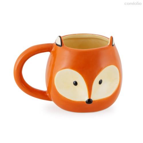 Кружка Fox 500мл, цвет оранжевый - Balvi
