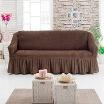 Чехол д/мягкой мебели 1 пр.( 3) JUANNA, цвет шоколадный - Meteor Textile
