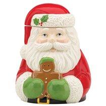 "Банка для печенья 25см ""Дед Мороз"" - Lenox"