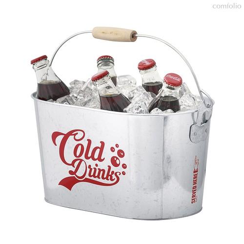 Емкость для охлаждения напитков Cold Drinks, цвет серебряный - Balvi