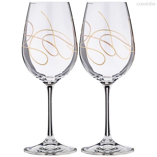 Набор бокалов для вина STRING из 2 шт. 350 мл - Crystalex
