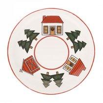 Блюдце чайное Рождественская деревенька - Mason's