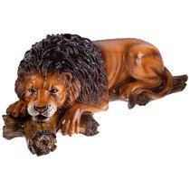 Декоративное Изделие Лев На Коряге 95x40 см Высота 36 см - Ceramiche Boxer