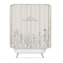 Штора для ванной комнаты Bath Rituals, цвет бежевый - D'casa