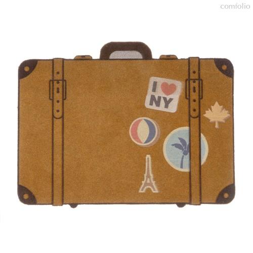 Коврик придверный Luggage, цвет коричневый - Balvi