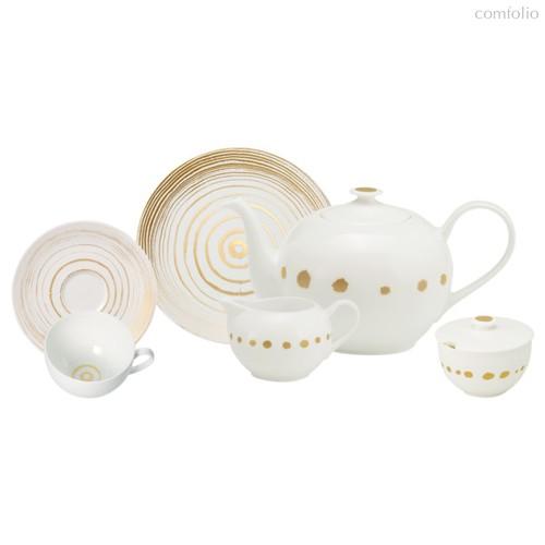 Сервиз чайный Dibbern Золотой жемчуг на 6 персон 21 предмет, фарфор - Dibbern