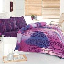 КПБ COTTON LIFE 1,5 сп. (70x70 нав. 2 шт.) ENIGMA, цвет лиловый, 1.5-спальный - Meteor Textile