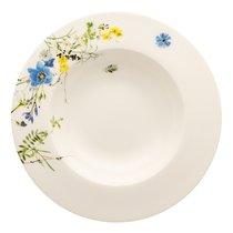 """Тарелка суповая с бортом 23см """"Альпийские цветы"""" - Rosenthal"""