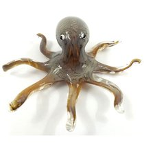Фигурка Жемчужный осьминог 25*22*8 см - Art Glass