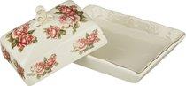 Маслёнка Lefard Корейская Роза 15x13x9 см - Guangdong Xiongxing Home Furnishing Ceramics