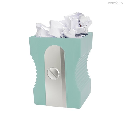 Корзина для бумаг Sharpener бирюзовая, цвет бирюзовый - Balvi