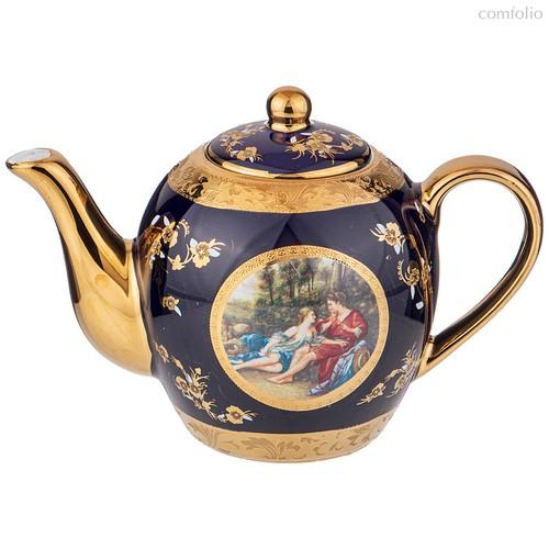 Чайник Lefard Влюбленная Пара Кобальт 500 мл - Jinding