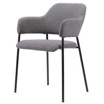 Кресло Wendy, рогожка, темно-серое - Berg