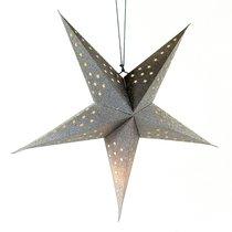 Светильник подвесной Star с кабелем 3,5 м и патроном под лампочку E14, 60 см., серебристый, цвет серебряный - EnjoyMe
