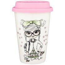 Кружка С Силиконовой Крышкой Lefard Fashion Princess 400 мл - Taiyu Porcelain