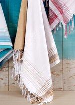 Полотенце пляжное Damla Bej, цвет бежевый, 100x180 - Irya