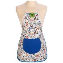 Фартук Детский Пикник ,Цветной+Синий, 100% Х/Б - Santalino
