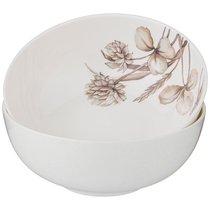 Набор Из 2 Розеток Lefard Белый Цветок 9,5 см Серый - Jinding