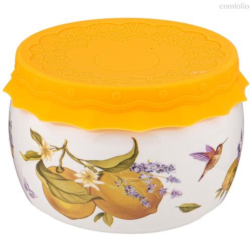 Банка с Силиконовой Крышкой Прованс Лимоны 500М л - Shunxiang Porcelain