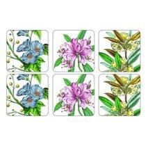 """Подставка под бокалы Pimpernel """"Ботанический сад"""" 10х10см, набор 6 шт, п/к - Pimpernel"""