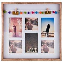 Фоторамка Семейная На 6 Сюжетов 40,5x40,5x3 см - Polite Crafts&Gifts