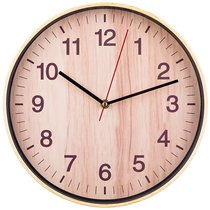 Часы Настенные Кварцевые Клен Танзау Диаметр 30 см Диаметр Циферблата 27, 5 см - Arts & Crafts