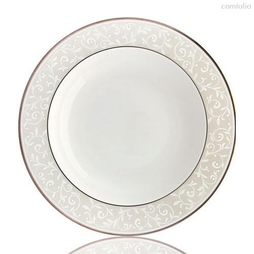 "Тарелка суповая Lenox ""Чистый опал"" 23см - Lenox"