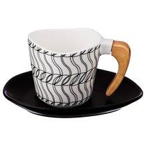 Чайный Набор На 1 Персону 2 Пр.230 мл, Деревянная Ручка - Jinding