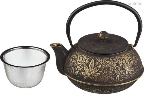Заварочный Чайник Чугунный С Эмалированным Покрытием Внутри 600 мл - Ningbo Gourmet