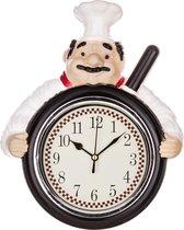 Часы Настенные Кварцевые Chef Kitchen 23, 5X29, 3X6 смДиаметр Циферблата 13 см - Arts & Crafts