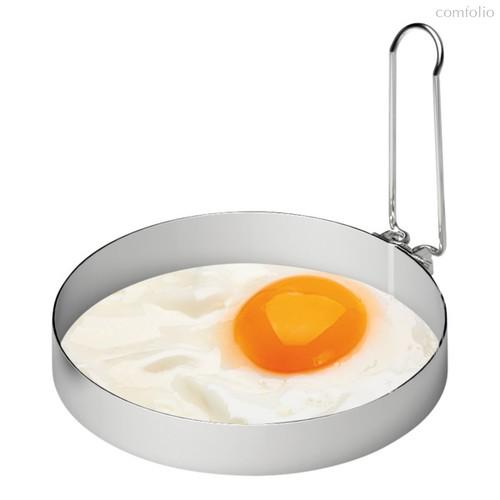 Форма для яичницы круглая Weis d8см, сталь нержавеющая - Weis