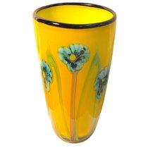 Ваза Ирисы 35 см - Art Glass