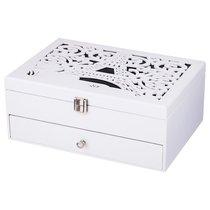 Шкатулка Для Украшений Белая Париж 26x19x10,8 см - Polite Crafts&Gifts