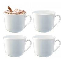 Набор из 4 округлых чашек Dine 400 мл - LSA International