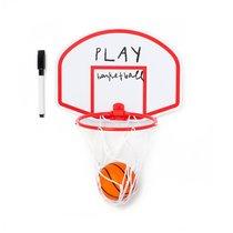 Магнитная доска с маркером и игрой в баскетбол Magneto Basket, цвет белый - Balvi