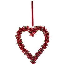 Изделие Декоративное Сердце Длина 20 см Без Упаковки - Polite Crafts&Gifts
